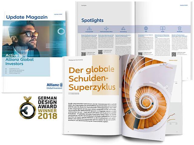 Werbung für Allianz Global Investors