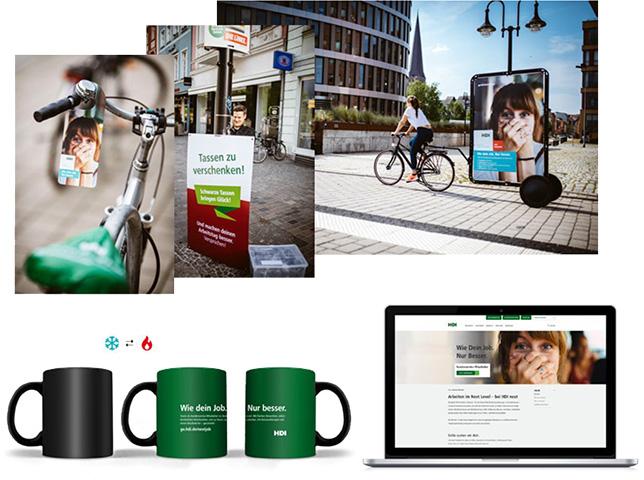 HDI-Werbung